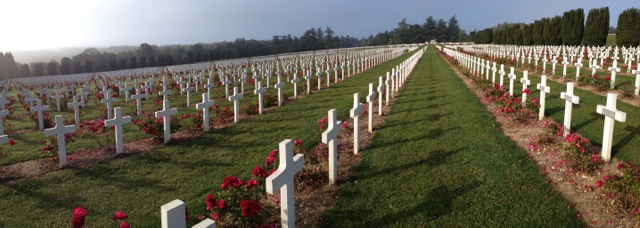 French cemetery for the Second Battle of Verdun
