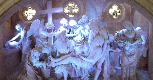 The amazing 16th century sculpture by Ligier Richier in St-Mihiel