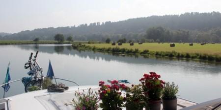 Meuse River scenery near Consenvoye