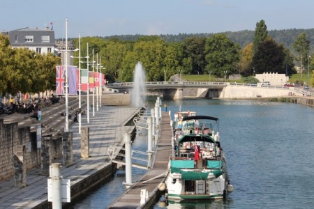 The river port in Verdun
