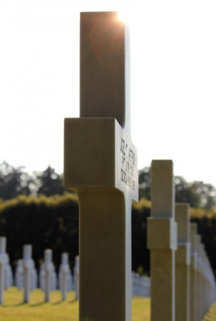 An American headstone