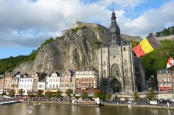 Church and Citadelle in Dinant