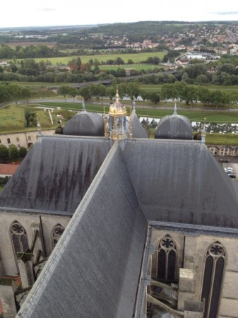 View from the Toul cathedral tower