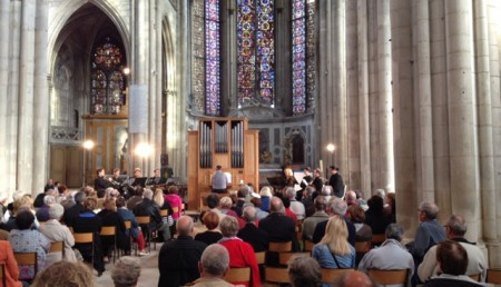 Bach concert at the Collégiale Saint-Gengoult church in Toul