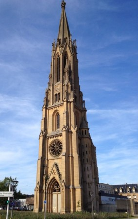A steeple without a church