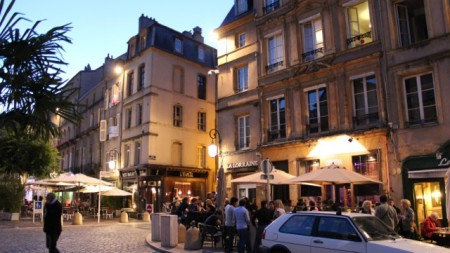 Early evening in Metz
