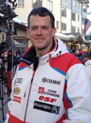 Me with my prized French Ski Team jacket