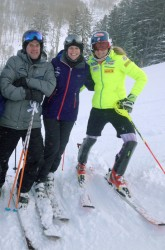 K & H with Mikaela Shiffrin