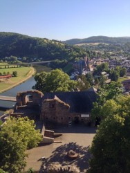 View from Saarburg Castle