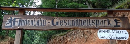 "A ""Gesundheitspark""; why does German sound so funny?"