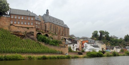 Approaching Saarburg