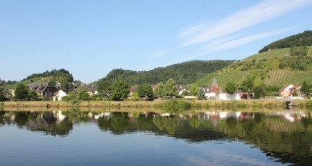 The Saar River near Saarburg