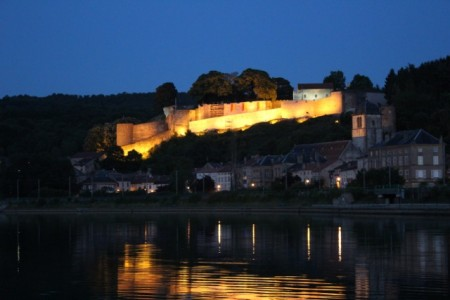 Dukes of Lorraine castle in Sierck-les-Bains