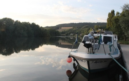 Moored in Sillery