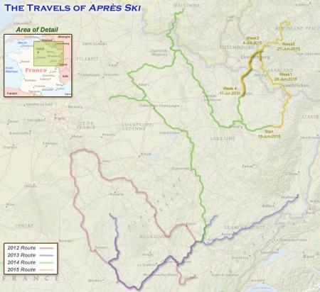 France 2015 Week 4 Route