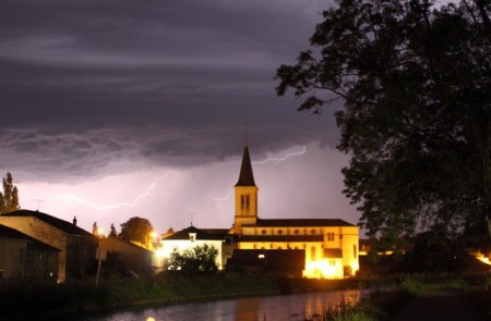Thunderstorm in Chamousey