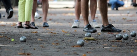 Pétanque Championships in Thaon