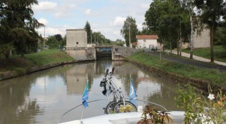 Canal de la Marne au Rhin near Einville