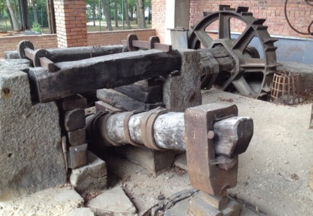 An old forge at the Museum of Iron