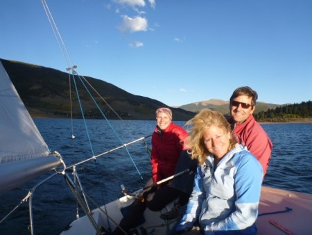 Sailing with Greg and Susan