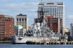 WW II battleship USS Wisconsin
