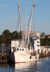 Fishing harbor near Beaufort