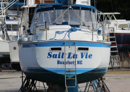 A great boat name in Beaufort