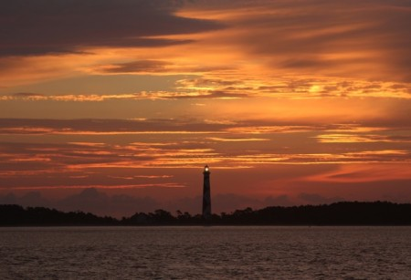 A fantastic sunrise at Cape Lookout