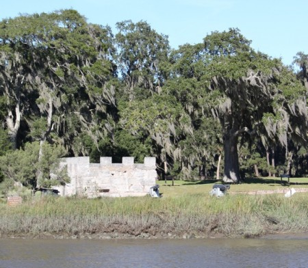 Remnants of Fort Frederica