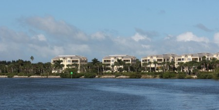 Definitely in Florida; condos and more condos