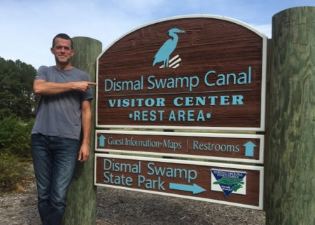 The perfect name - Dismal Swamp!
