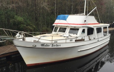 "Best boat name of the week - ""Water Torture"""