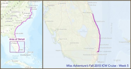 """Miss Adventure"" East Coast Cruise – Week 5"