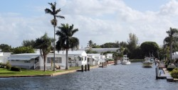 A shockingly nice waterfront trailer park