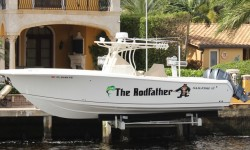 "Great boat name; ""The Rodfather"""