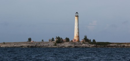 The Great Isaac Lighthouse (abandoned)
