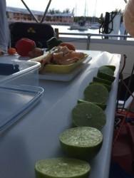 Conch salad prep