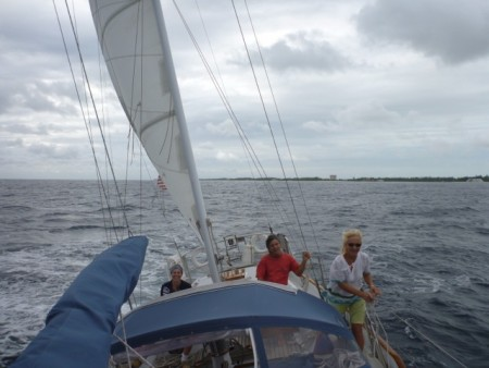Sailing with Mary Jo and Allan