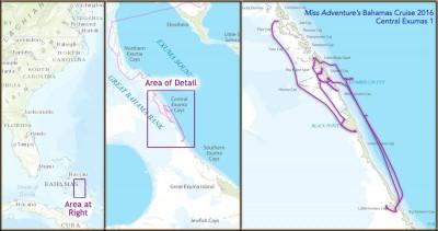 Bahamas 2016 Cruise - Central Exumas 1