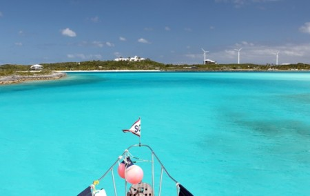 Approaching Overyonder Cay