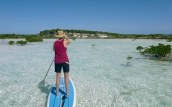 Paddling on [redacted] Cay