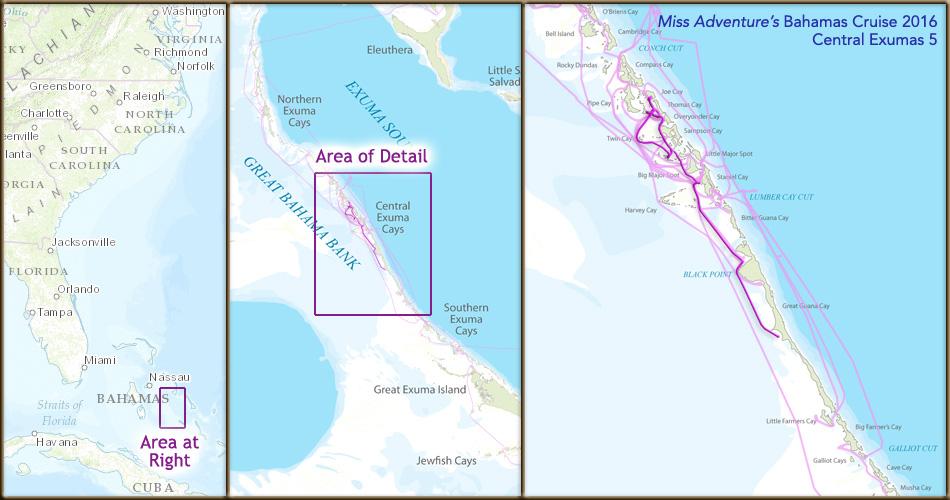 Bahamas 2016 Cruise - Central Exumas 5