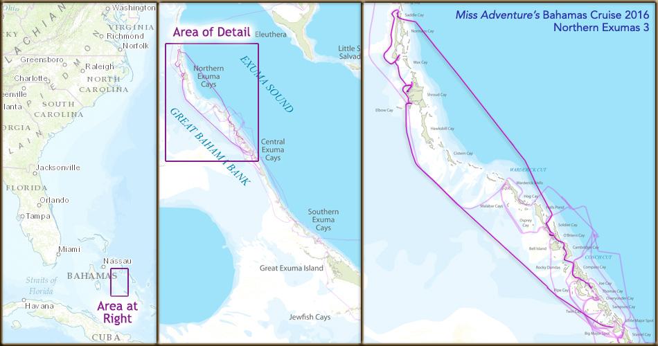 Bahamas 2016 Cruise - Northern Exumas 3
