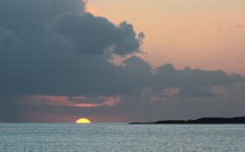 Sunset at Prime Cay