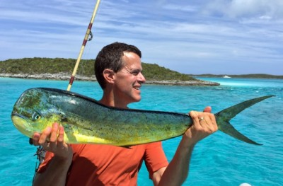 "Showing off our Mahi to ""Good Morning Vietnam"""