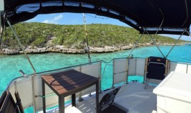 Anchored REALLY close to Rat Cay