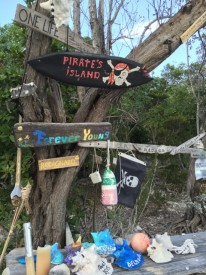 """Pirate Beach"" on Big Major Spot"