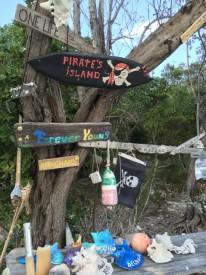 """Pirate Beach"" on Big Major Spot"