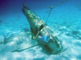 The plane wreck near O'Brien's