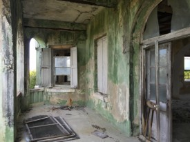 The abandoned 1930's estate